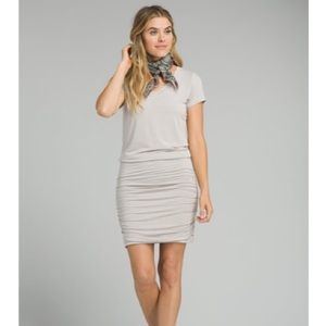 Prana Foundation Dress in Heather grey